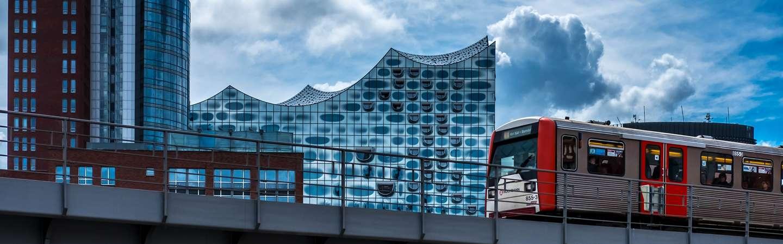 Urlaub mit der Bahn Hamburg